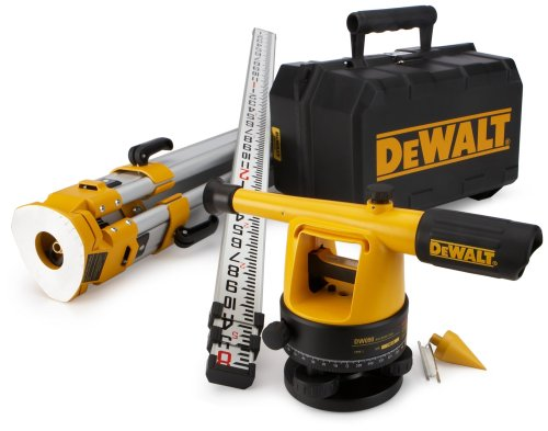 DEWALT DW090PK 20X Builder's Level Package with Tripod and Rod by DEWALT