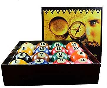 Bilie Canicas bolas numeradas para billar Pool Carambola juego 16 bolas balltec 57,2 mm: Amazon.es: Deportes y aire libre