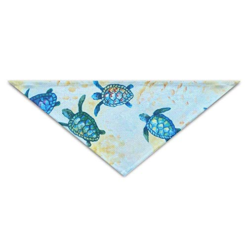 Blue Baby Sea Turtle Party Baby Pet Triangle Head Scarfs, used for sale  Delivered anywhere in Canada