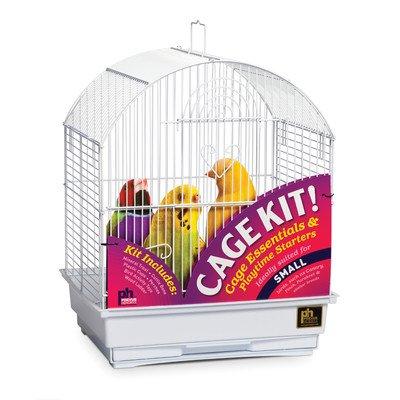 Round Top Parakeet Bird Starter Kit