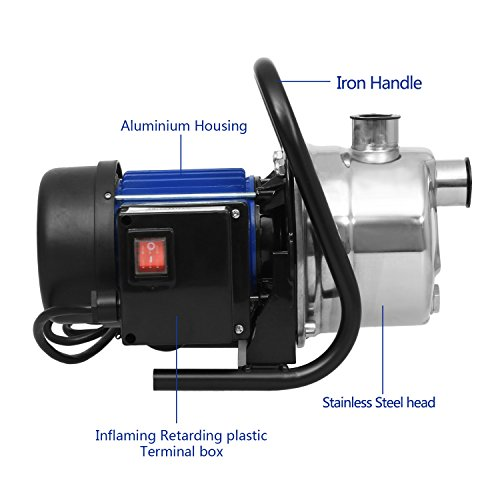 Review 1.6HP Booster Pump Stainless
