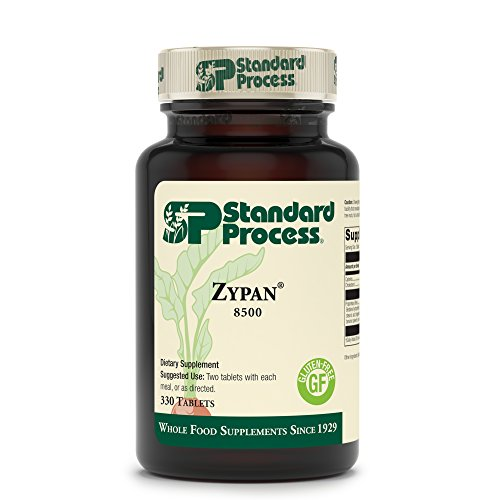 Standard Process - Zypan - Supports Healthy Digestion and Gastrointestinal pH, Enzymatic Support for Protein Digestion, Provides Pancreatin, Pepsin, Betaine Hydrochloride, Gluten Free - 330 Tablets by Standard Process (Image #1)