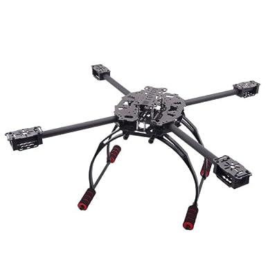 GigaMax(TM)Carbon Fiber Folding Four-axis Quadcopter Aircraft Frame Kit
