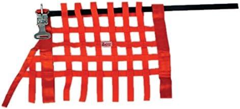 Safety Racing Orange Grand National Latch Release Window Net-16 x 24