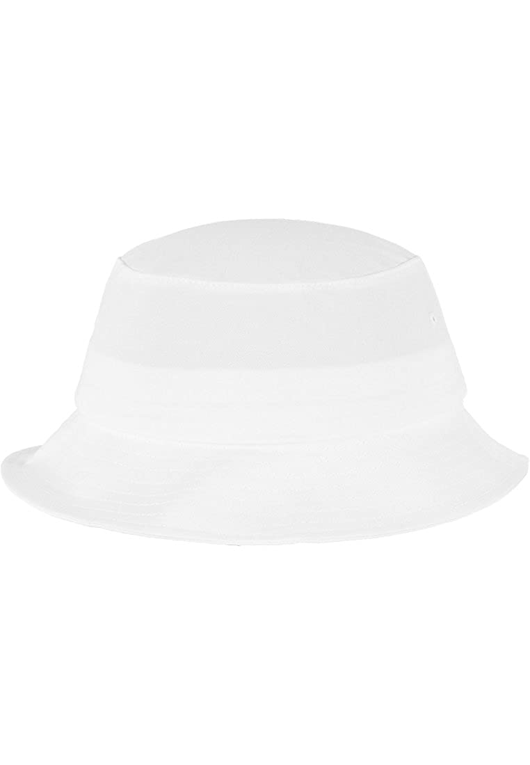 /Cotton Sarga Bucket Hat White Flexfit/