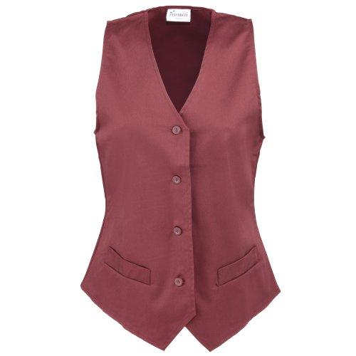 Hospitality Workwear de Femme Vert Ladies Waistcoat Premier Veste Tailleur Bouteille EpqaTSSwU