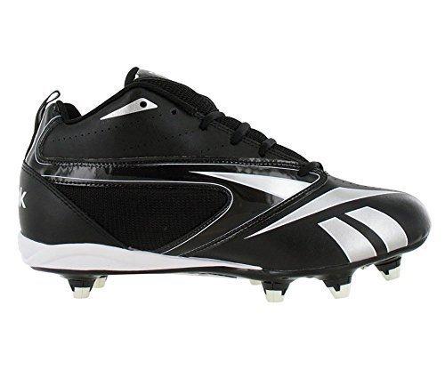 Reebok Audible III D Men's Football Shoes (16, Black/White)