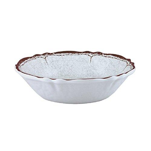 Le Cadeaux Antiqua Cereal Bowl, White by Le Cadeaux