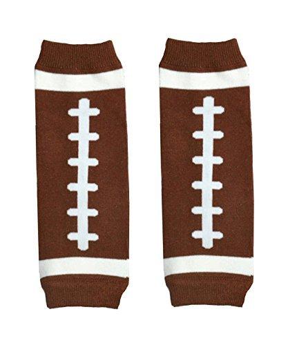 - KWC - Sports Baby Leg Warmer/ Leggings (Newborn, American Football (Touchdown))