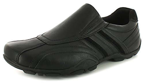 Kenkiä Vapaa Lipsahdus Casual Uusi Ons Uk Slip Shoes 11 Pohjat Uk Musta Black Mens Herrat With Flexi Sizes Tasainen 6 Flexi ajan Flat Soles New 6 Miesten Koot 11 gents Ons nPqWZTxnH