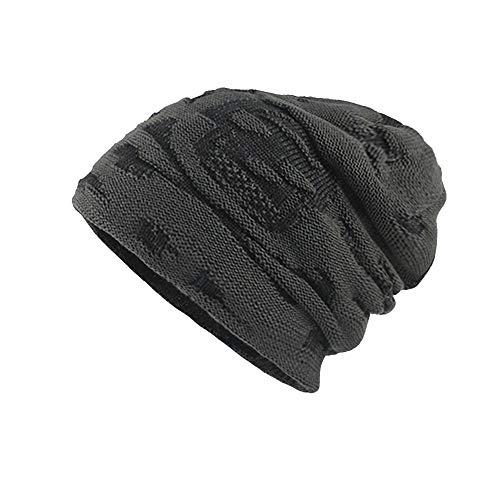 Sales ! Men's Knit Hat Sports Knit Hat Autumn Winter Trainin