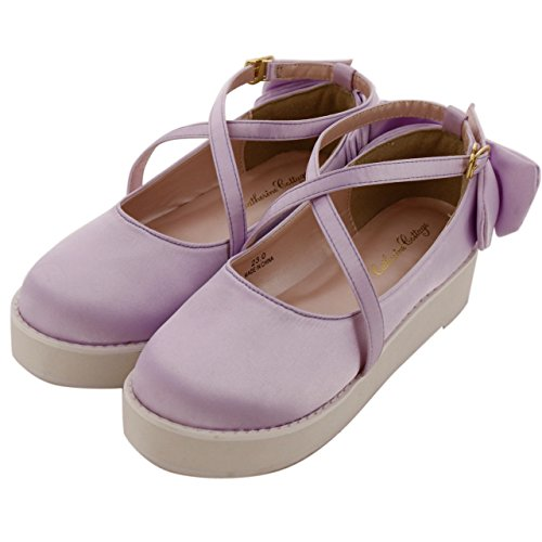 Catherine Cottage (캐서린 별장) 신발 SI0004 로맨틱 리본 플랫폼 슈즈 신발 / Catherine Cottage Shoes SI0004 Romantic Ribbon Thick Bottom Shoes