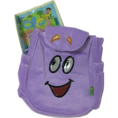 Dora the Explorer Backpack Rescue Bag, Purple]()