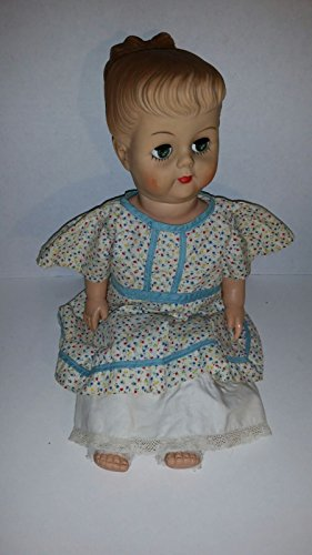 """1956 18"""" Miss Cuddle-bun doll Eegee Sold at Sears and would"""