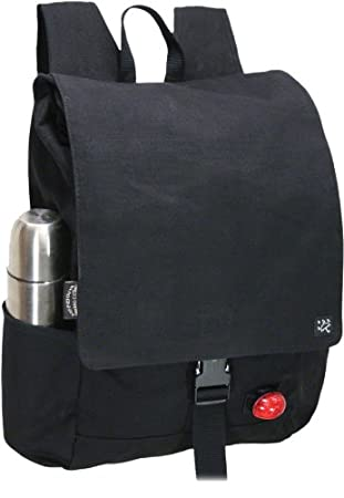 de7414903a60 Banjo Brothers Canvas Commuter Backpack Black With phone Holster 05009   Amazon.co.uk  Sports   Outdoors