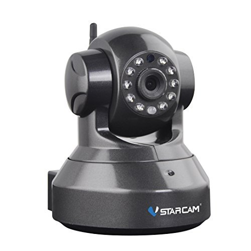 Wireless Home Security IP Camera-Vstarcam C7837WIP for Indoor Surveillance, Baby Care, Pets Monitor including 15 Preset Position, 2 Way Audio, Night Vision, Motion Alarm, 1 Year - Email Official Address