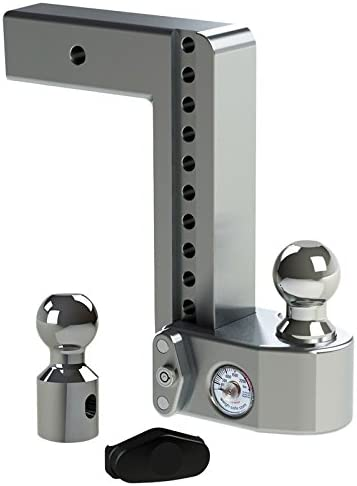 7. Weigh Safe 2-Ball Mount w/ Built-In Scale