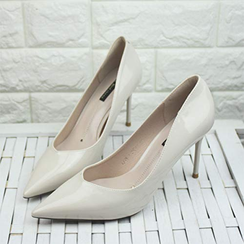 Shoes Code High heels Mouth Beige Yukun Red Women'S Black Size 40 With High Shallow Heels Female Thick Gray Pointed q74n4dvZ