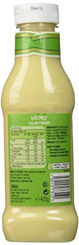 Heinz Salad Cream Squeezy , 425 Grams,(4 Pack) by Heinz