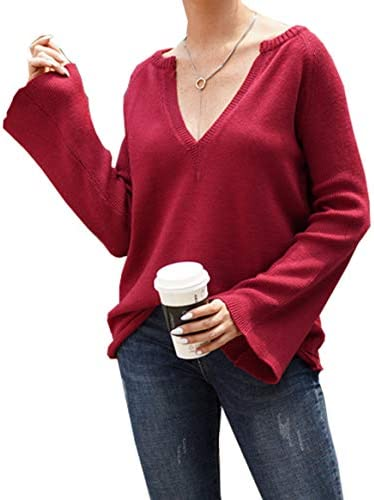 PRETTYGARDEN Knitted Lightweight Sweater Pullover product image