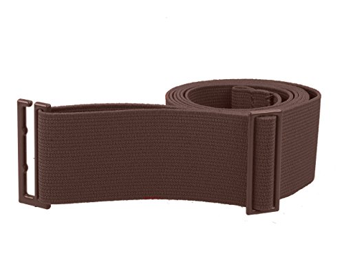 (Gelante Lady Invisible Belt - Web Canvas Elastic Adjustable Skinny No Show Belt 2051-Coffee(14+)))