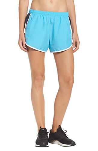 Under Armour Women's Fly by Shorts Island Blues/Midnight Navy Shorts by Under Armour