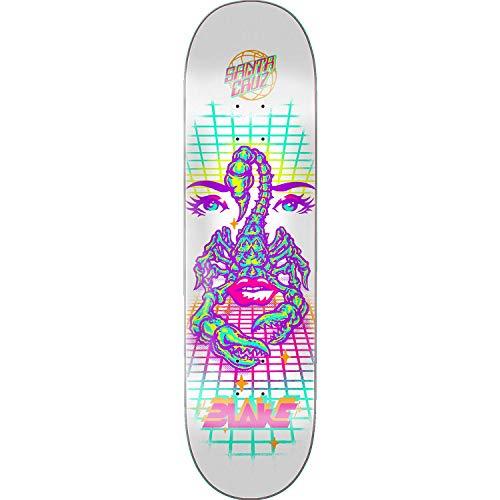 Santa Cruz Johnson Danger Zone Skateboard Deck -8.37 Powerply - Assembled AS Complete Skateboard