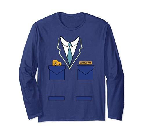 (Train Conductor Costume Shirt Uniform for Halloween)