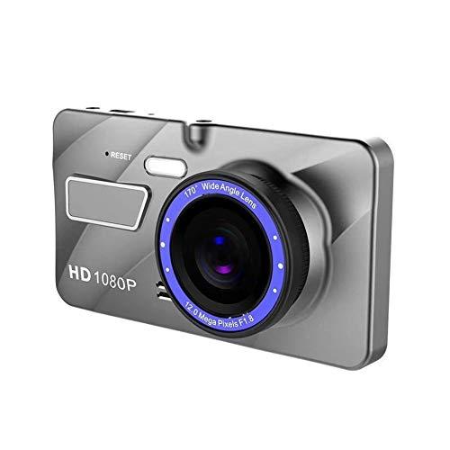 "4""1080P Car Vehicle Dashboard DVR Camera Video Recorder Dash Cam G-Sensor Silver"