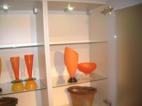 Glaseinlegeboden für 60cm breiten Hängeschrank / Wandschrank ...