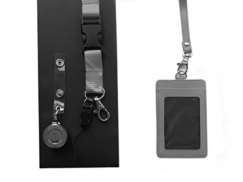 4-in-1-gray-2-sided-vertical-leather-credit-card-and-id-holder-with-detachable-lanyard-1-neck-lanyar