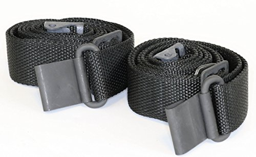 AmmoGarand 2-Pack M1 Garand Two Point Rifle Sling Nylon Black Web US Gov't (Black Nylon Sling)