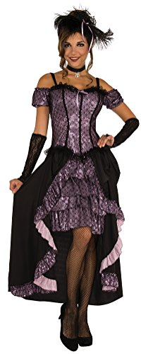 Rubie's Costume Co. Women's Dance Hall Mistress Costume, As Shown, Standard