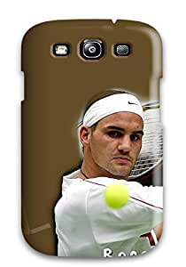 Galaxy Case - Tpu Case Protective For Galaxy S3- Roger Federer