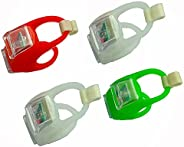 Deals4you Green & Red Portable Marine LED Boating Lights - Boat Bow Or Stern Safety Lights-Kayak Navigatio