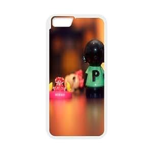 IPhone 6 Plus Case, Salt Pepper Case for IPhone 6 Plus {White}