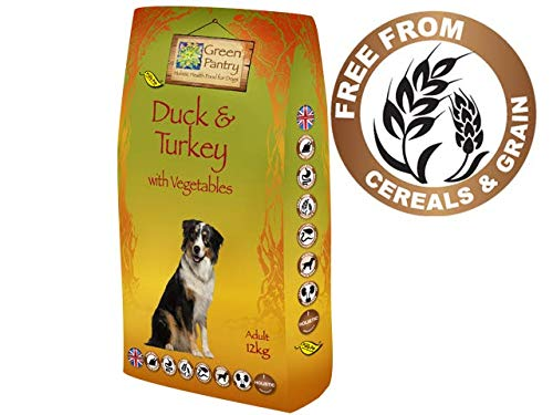 Green Pantry Duck & Turkey with Vegetables Grain Free, 12kg (Adult All Stages)