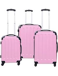 Amazon.com: Pink - Luggage Sets / Luggage: Clothing, Shoes & Jewelry