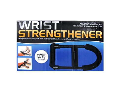 K&A Company Wrist Strengthener Heavy Duty Steel Spring Case of 16