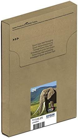 Epson Original 24 Tinte Elefant Xp 750 Xp 850 Xp 950 Xp 55 Xp 760 Xp 860 Xp 960 Xp 970 Amazon Dash Replenishment Fähig Multipack 6 Farbig Bürobedarf Schreibwaren