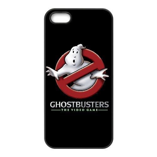 V4I31 SOS Fantômes: Le logo de jeu vidéo V1R5HD coque iPhone 5 5s cellulaire cas de téléphone couvercle coque de WW2DRJ8HH noir