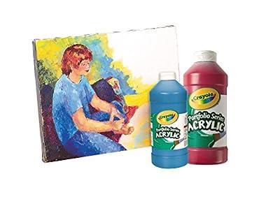 Crayola Portfolio Series 16-Ounce Acrylic Paint | Educational Toys