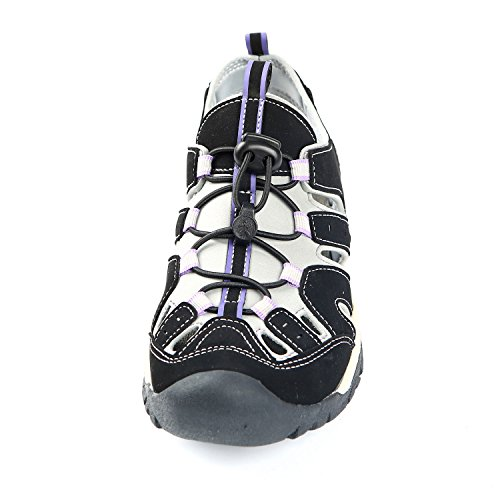 Northside Sport Womens Sandal Black Lilac Athletic II Burke zrfnZqz