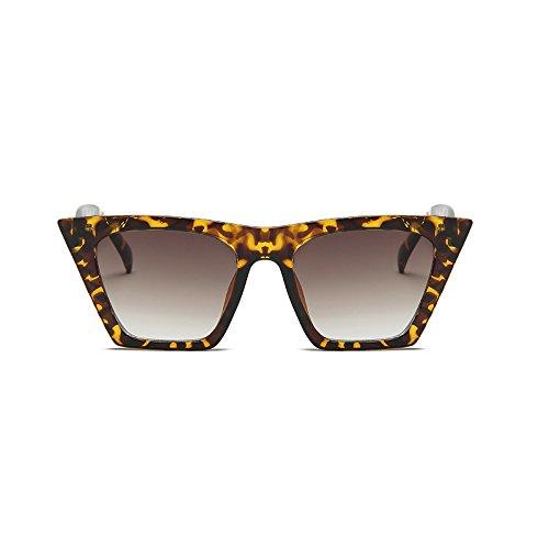 de de Gato Gafas Hombre de de Acetato Transparente Burenqi Mujer Moda Diseñador UV400 Sol Marca Marco F Ojo Lente Cuadrado M Gafas de 7xqxWO5wcp