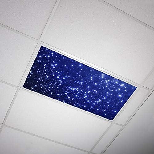 Octo Lights Fluorescent Light Covers 2x4 Fluorescent Light Filters Ceiling Light Covers For Classroom Kitchen Office Astronomy 001 Amazon Com