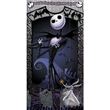 Amazon.com: The Nightmare Before Christmas Beach Towel ~ Jack ...
