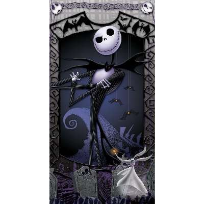 Amazon the nightmare before christmas beach towel jack the nightmare before christmas beach towel jack skellington zero can be used for publicscrutiny Images