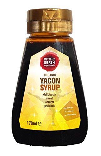 Organic Yacon Root Syrup 221g/170ml