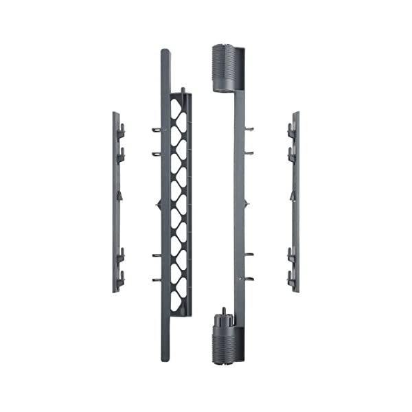 North States Superyard Wall Mount Kit for Superyard Classic, Colorplay, or Indoor-Outdoor 6-Panel Play Yard or Superyard 2-Panel Extension: Hardware to create an extra-wide barrier. (Gray)