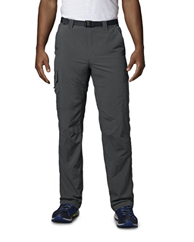 Columbia Men's  Men's Silver Ridge Cargo Pant , Grill, 32x30 (Mens Cargo Shell Pants)